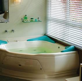 Banheira de hidromassagem suiça